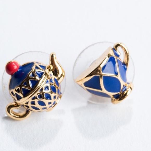 kate spade Jewelry - 🛍Kate Spade Earrings Tea Time